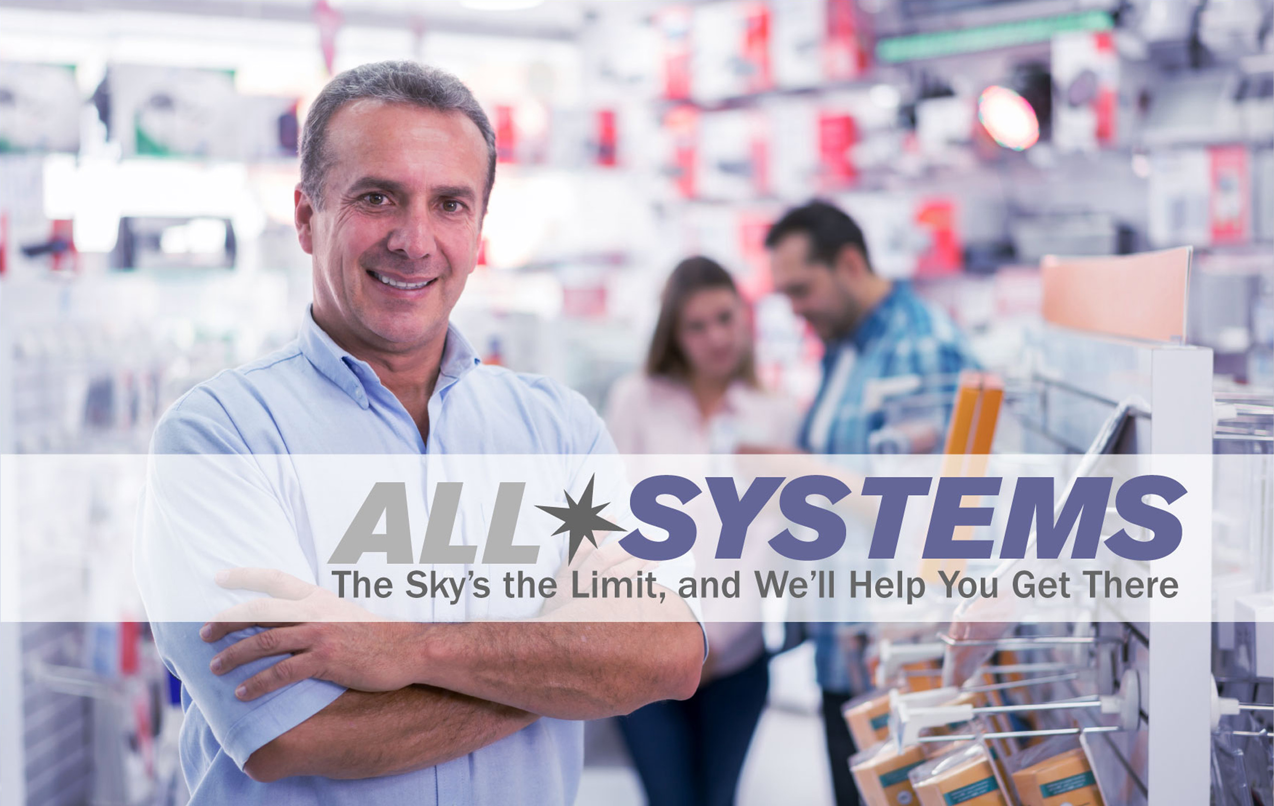Become a retailer with All-Systems and represent products like DISH, HughesNET, Spyclops, RingCentral and more.