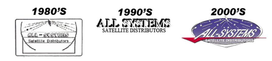 All-Systems Logo History 1980-2000