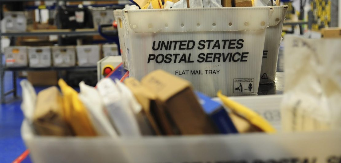Direct Mail in Mailroom